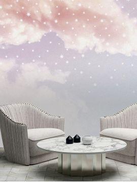 Ciel étoilé - fresque 3 lés