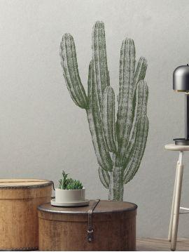 Finger cactus - Grands Stickers 60x90 cm