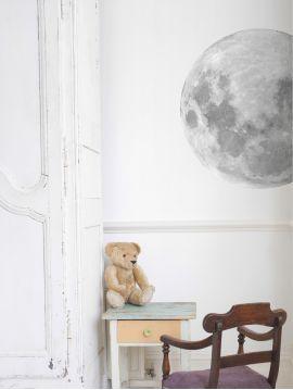 Décor Lune Ø 60 cm - pré-découpé - dénuancé