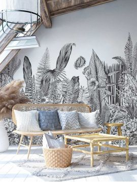Wallpanel Botanic