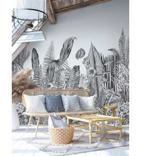 Wallpanel Toscane Monochrome - 3 to 6 stripes